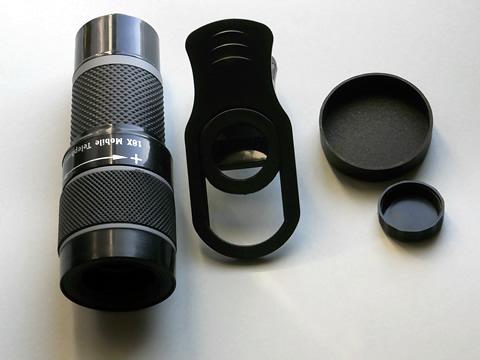 スマホ用望遠レンズ